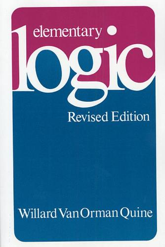 Elementary Logic: Revised Edition (Paperback)