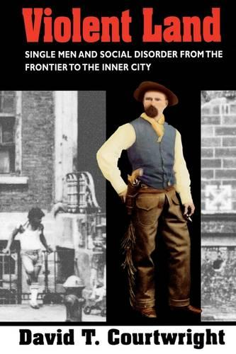 Violent Land: Single Men and Social Disorder from the Frontier to the Inner City (Paperback)