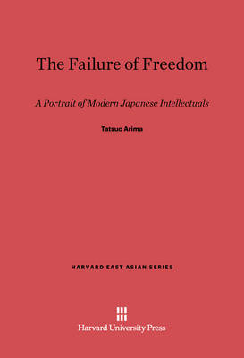The Failure of Freedom - Harvard East Asian 39 (Hardback)