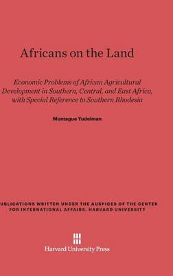 Africans on the Land (Hardback)