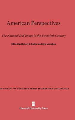 American Perspectives - Library of Congress Series in American Civilization 2 (Hardback)