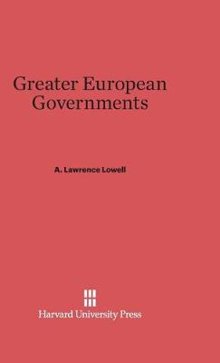 Greater European Governments (Hardback)