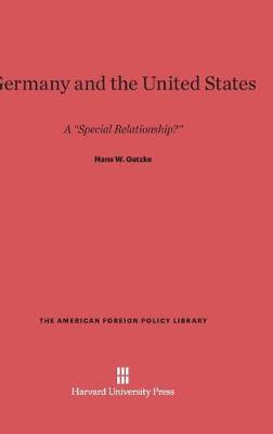 Germany and the United States (Hardback)