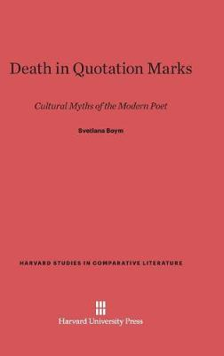 Death in Quotation Marks (Hardback)