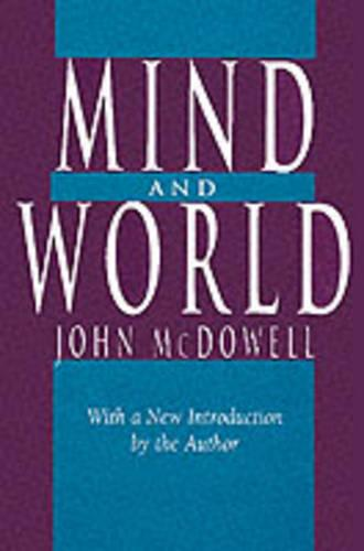 Mind and World (Paperback)
