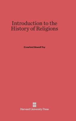 Introduction to the History of Religions (Hardback)