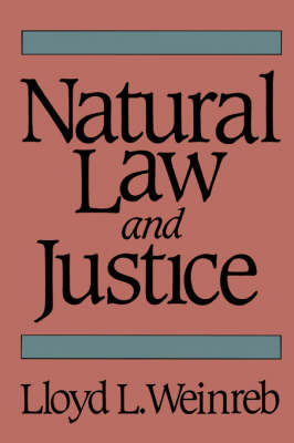 Natural Law and Justice (Paperback)