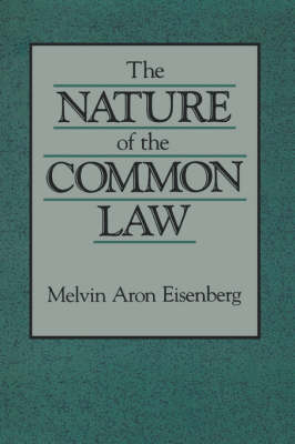 The Nature of the Common Law (Paperback)