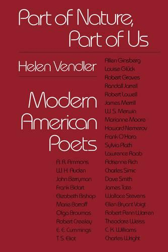 Part of Nature, Part of Us: Modern American Poets (Paperback)