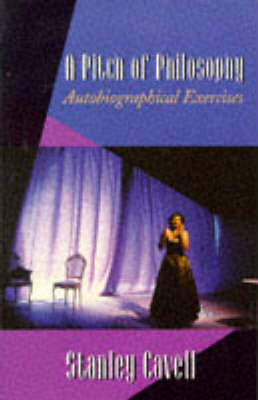 A Pitch of Philosophy: Autobiographical Exercises - The Jerusalem-Harvard Lectures (Paperback)