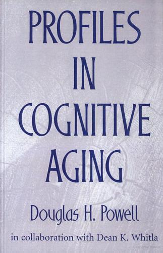 Profiles in Cognitive Aging (Hardback)