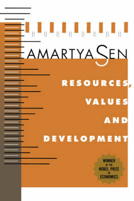 Resources, Values, and Development: Expanded Edition (Paperback)