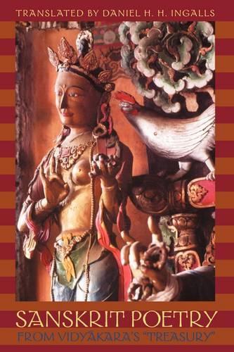Sanskrit Poetry from Vidyakara's Treasury (Paperback)