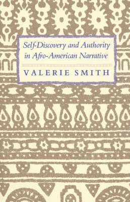 Self-Discovery and Authority in Afro-American Narrative (Paperback)