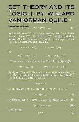 Set Theory and Its Logic: Revised Edition (Paperback)