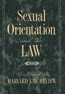 Sexual Orientation and the Law (Paperback)