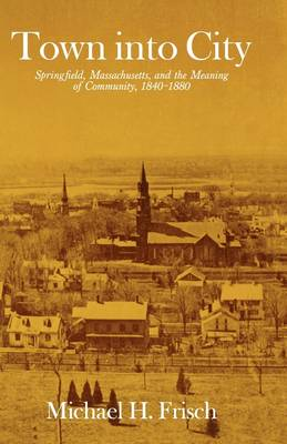 Town into City: Springfield, Massachusetts, and the Meaning of Community, 1840-1880 - Harvard Studies in Urban History (Paperback)