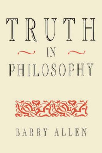 Truth in Philosophy (Paperback)