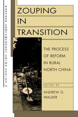 Zouping in Transition: The Process of Reform in Rural North China - Harvard Contemporary China Series (Paperback)