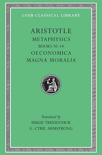 Metaphysics - Loeb Classical Library (Hardback)