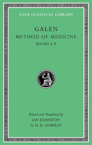 Method of Medicine, Volume II: Books 5-9 - Loeb Classical Library *CONTINS TO info@harvardup.co.uk (Hardback)
