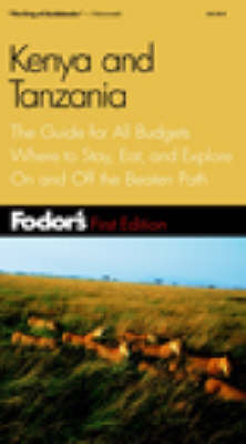 Kenya and Tanzania - Gold Guides (Paperback)