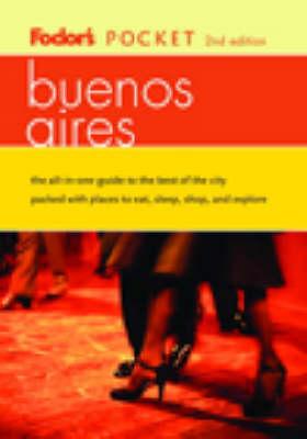 Pocket Buenos Aires - Fodor's Pocket Guides (Paperback)