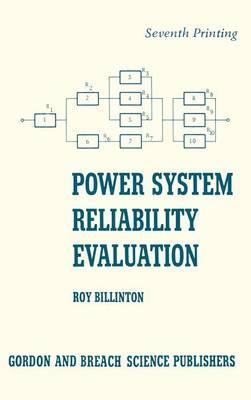 Power System Reliability Evalu (Hardback)