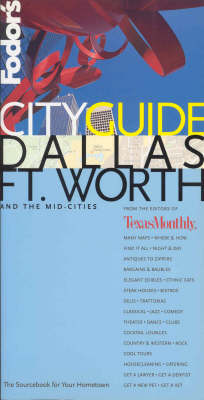 Dallas, Fort Worth - City Guide (Paperback)