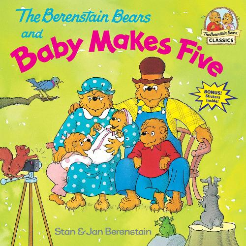 Berenstain Bears And Baby Makes Five (Paperback)
