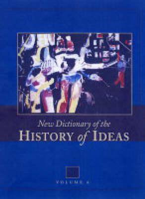 New Dictionary of the History of Ideas (Hardback)