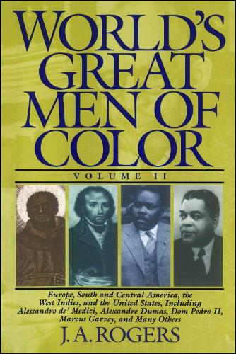 World's Great Men of Color, Volume I (Paperback)