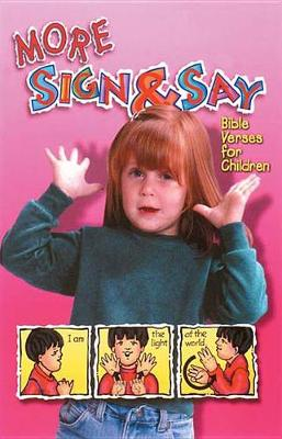 More Sign and Say (Paperback)