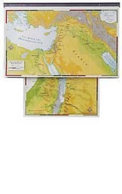 New Abingdon Bibleland Maps with Charthead (Paperback)