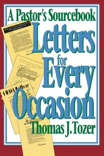 Letters for Every Occasion: A Pastor's Sourcebook (Paperback)