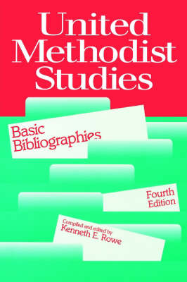 United Methodist Studies: Brief Bibliographies (Paperback)