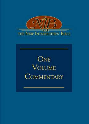 New Interpreter's Commentary on the Bible: v. 1 (Hardback)