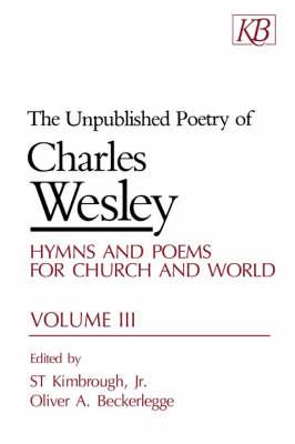 The Unpublished Poetry: v. 3 (Paperback)