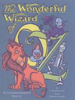 Cover of the book, The Wonderful Wizard of Oz.