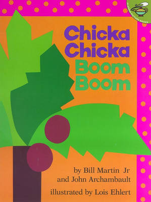 Cover of the book, Chicka Chicka Boom Boom.