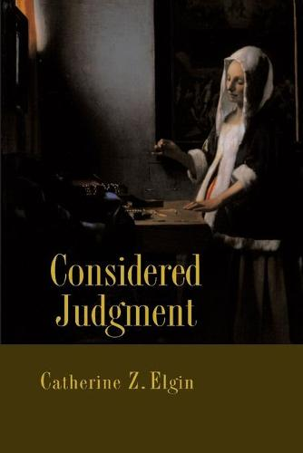 Considered Judgment (Paperback)