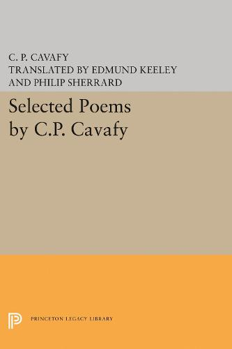 Selected Poems by C.P. Cavafy (Paperback)