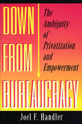 Down from Bureaucracy: The Ambiguity of Privatization and Empowerment (Hardback)