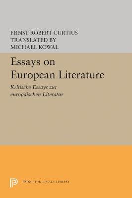 Essays on European Literature (Paperback)