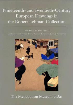 The Robert Lehman Collection at the Metropolitan Museum of Art, Volume IX: Nineteenth- and Twentieth-Century European Drawings (Hardback)