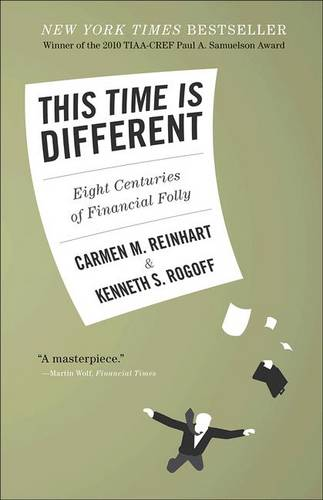 This Time Is Different: Eight Centuries of Financial Folly (Hardback)