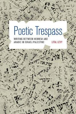 Poetic Trespass: Writing between Hebrew and Arabic in Israel/Palestine (Hardback)