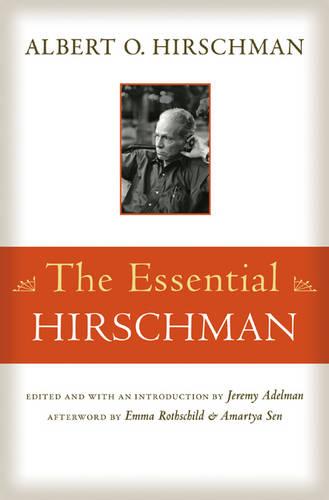 The Essential Hirschman (Paperback)