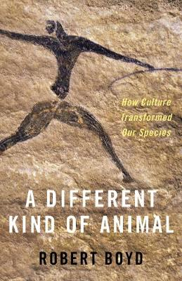 A Different Kind of Animal: How Culture Transformed Our Species - The University Center for Human Values Series (Hardback)