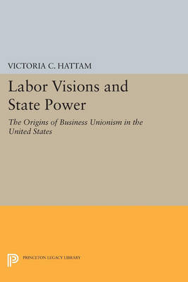 Labor Visions and State Power: The Origins of Business Unionism in the United States - Princeton Legacy Library 4563 (Paperback)